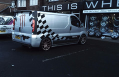"""Vauxhall Vivaro Fitted With 20"""" Mayfair"""