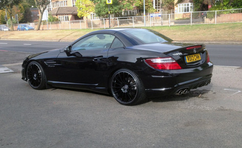 "MERC SLK Fitted With 19"" RAPIDE"