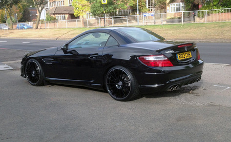 """MERC SLK Fitted With 19"""" RAPIDE"""
