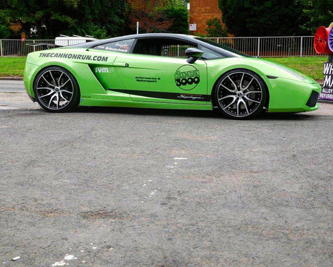 "LAMBO GALLARDO Fitted With 20"" MAYFAIR"