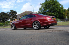 """MERC CLS Fitted With 20"""" SILVERSTONE"""