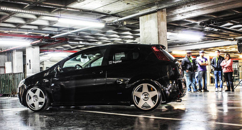 Fiat Punto Fitted With BOLA B10
