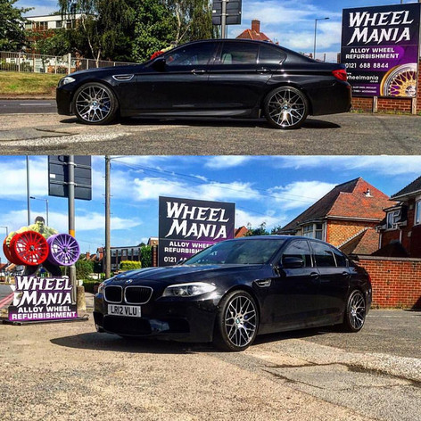 "BMW M5 Fitted With  20"" Calibre CC-M"