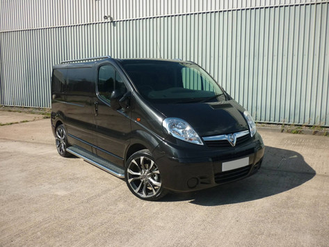 Vauxhall Vivaro Fitted With Wolfrace Assassin