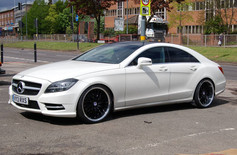 """MERC CLS  Fitted With 20"""" RADISSON"""