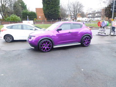 """Nissan juke Fitted With 20"""" Balmoral"""