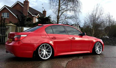 BMW 5 series Fitted with V-FS23