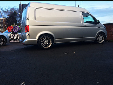 VW T6 Fitted With breyton magic 2 piece