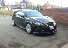 """SEAT LEON Fitted With18"""" STX"""