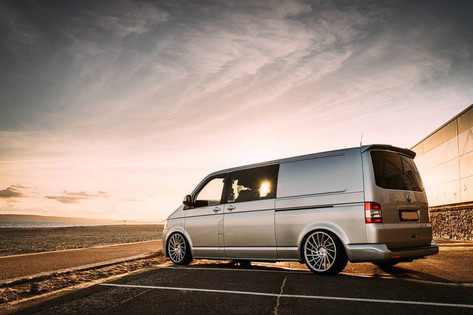 VW Transporter Fitted With RIVIERA RV135