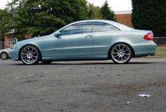 """MERC CLK Fitted With 19"""" BRIDGE"""