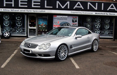 """MERC SL Fitted With 20"""" ALTUS"""