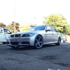 """BMW E90 Fitted With 19"""" Calibre CC-F"""