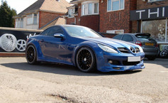 """MERC CLK  Fitted With 19"""" RAPIDE"""