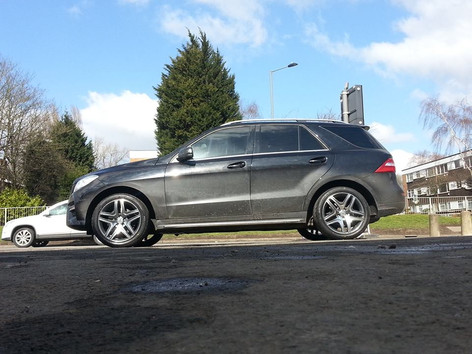 Merc ML Fitted With Ml63 style