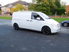 """Mercedes Vito Fitted With 20"""" Wolfrace Assassins"""