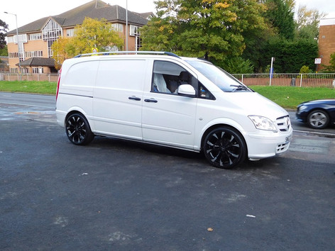 "Mercedes Vito Fitted With 20"" Wolfrace Assassins"