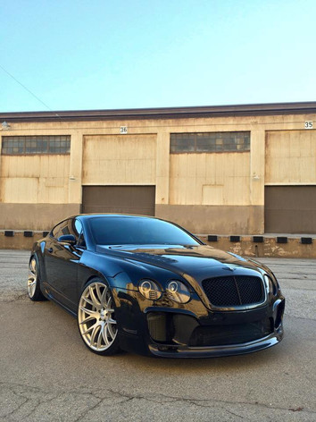 BENTLEY GT Fitted With Zito 935