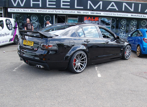 "Vauxhall VXR8 Fitted With 20"" Mayfair"