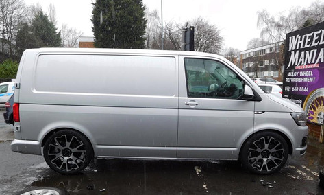"VW T5 Fitted With 20"" Balmoral"
