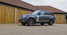 Range Rover Fitted With Wolfrace GTR