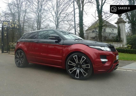 Range Rover Evoque Fitted With Hawke Saker 2