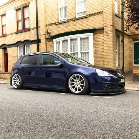 VW Golf Fitted With BOLA CSR