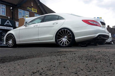 """MERC CLS Fitted With 20"""" FORCE 5"""