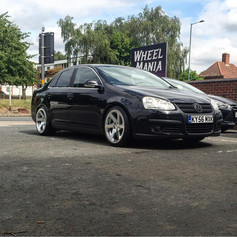 VWVW Jetta fitted with 3SDM 0.06