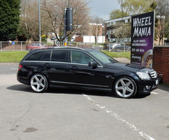 """MERC C CLASS Fitted With 19"""" DMA"""