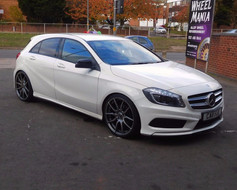"""MERC CLA Fitted With 20"""" MAYFAIR"""