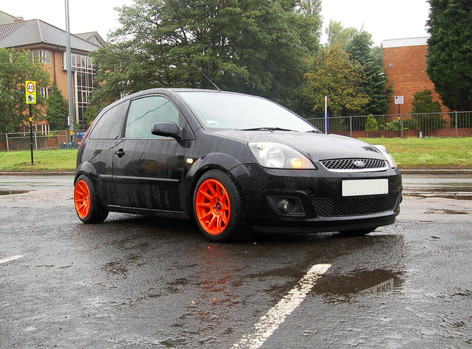 """FORD FIESTA  Fitted With 15"""" AXE EX8"""