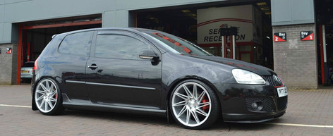 Vw Golf Fitted With Veemann VFS-26