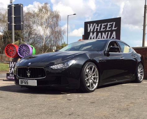 Maserati Ghibli Fitted With Mania Mayfair