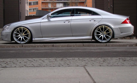 "Merc Cls Fitted With 20"" Mayfair"