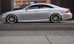 """Merc Cls Fitted With 20"""" Mayfair"""