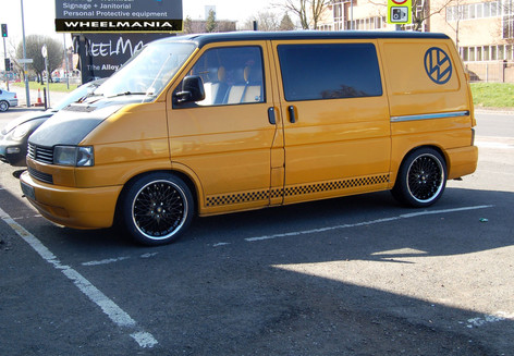 """VW T4 Fitted With 18"""" ZEUS"""