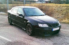 Saab 9-3 Fitted With BOLA CSR