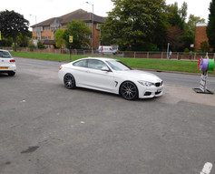 Bmw 4 Series fitted with Mania Mayfairs