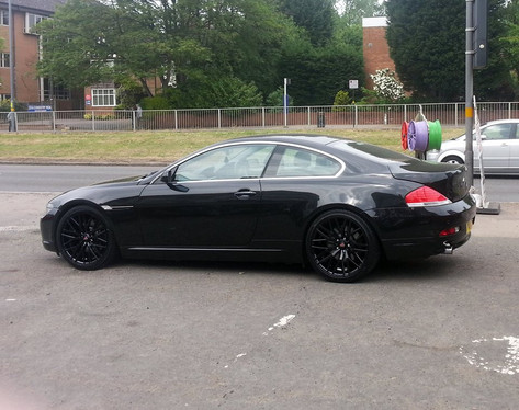 Bmw 6 series fitted with 20 inch Axe EX30