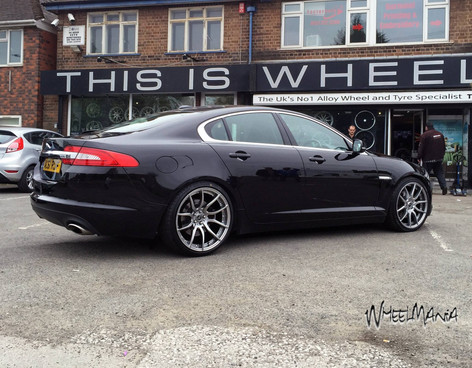 """JAGUAR XF  Fitted With 20"""" MAYFAIR"""