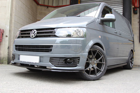 VW T6 Transporter Fitted With RIVIERA RV192