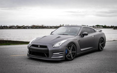 """Nissan GTR Fitted With 20"""" Axe Ex14"""