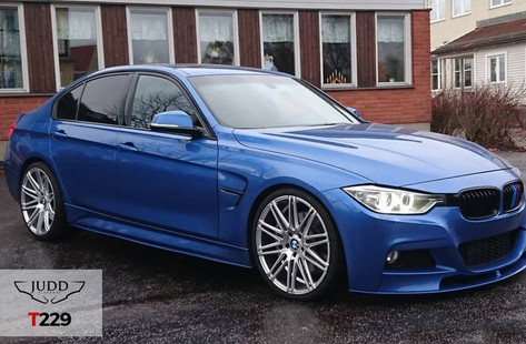 BMW 320d F30  Fitted With Judd T229