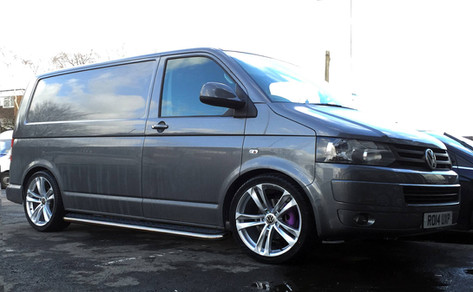 "VW T5 Fitted With 20"" ASUKA 038"