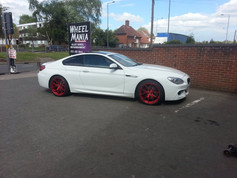 BMW 6 SERIES FITTED WITH 20 inch JUDD T325 CANDY