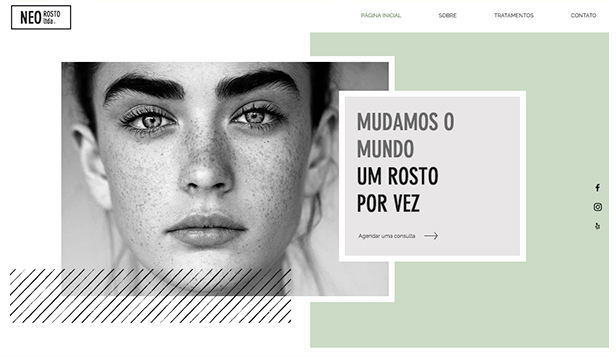 Ver todos os templates website templates – Spa de Sobrancelhas
