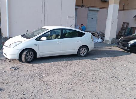 Toyota Prius 20 Удаление катализатора