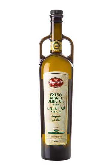 Special gift bottle olive oil 750ml