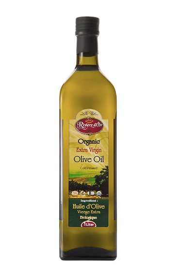 Rivière d'Or organic extra virgin olive oil 1L